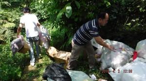 外縣市廢棄物入侵新北   2清潔廠商非法棄置送辦