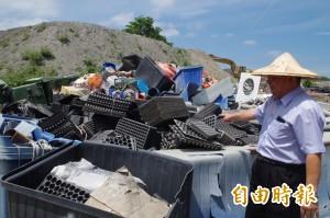 回收細分23類 二崙清潔隊賣垃圾年賺逾200萬