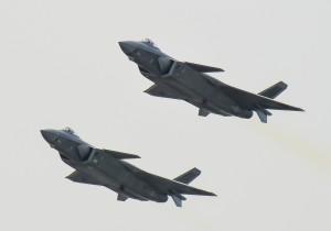 中國殲20隱形戰機落漆! 印度普通雷達輕鬆偵測到