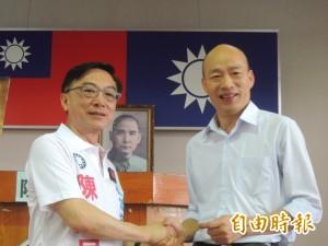 國民黨高市長初選韓國瑜出線 陳宜民飛歐洲表祝福