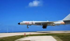 中國轟炸機南海起降訓練  越南抗議