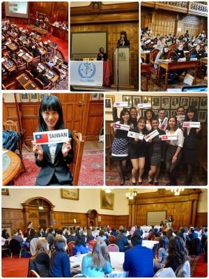 台灣留學生就是猛! 在模擬WHA大會宣布台獨