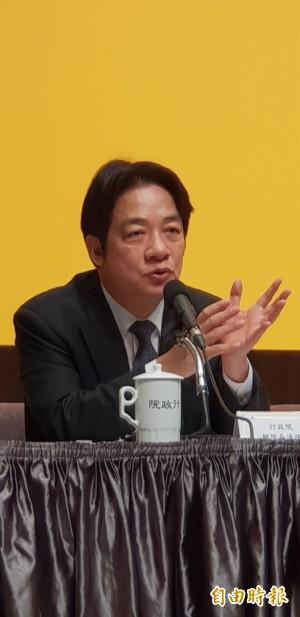 賴揆:完成颱風季節防災整備 應用科技強化減災措施