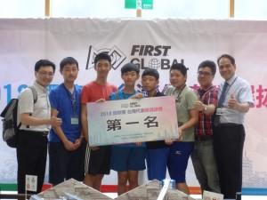 FGC機器人台灣賽 聯隊「食袋的力量」摘冠將赴墨