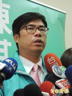 高雄市長民調 陳其邁領先韓國瑜31%