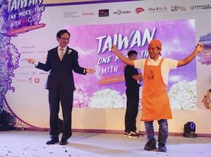 他們用麵線跳繩、跳波浪舞 力邀泰國人來台玩