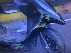 女騎士5/31在小港摔死 警急尋行車紀錄器影像釐清