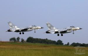 漢光演習首日 空軍主力戰機備轉場 移到東部佳山基地