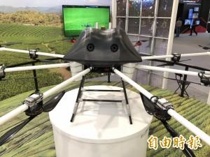 防跳電!清洗電塔新法寶 工研院研發高負載AI無人機