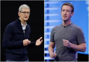 蘋果與臉書鬧翻! 將阻絕FB收集用戶數據