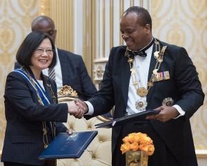 建交50週年 史瓦帝尼國王訪台 將與蔡總統元首晤談