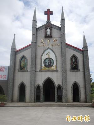 「命中注定我愛你」拍攝場景 羅東北成天主堂將歡度60歲生日