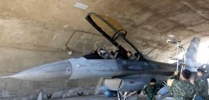 昨參與對抗操演 F16戰機完成特檢重返藍天