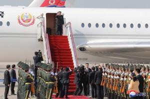 金正恩坐哪架?中國專機與「蒼鷹一號」同時起飛