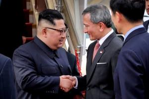 新加坡外長PO照:歡迎金正恩抵達新加坡