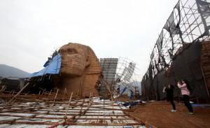 中國山寨獅身人面像又重組 埃及痛批:極其無禮