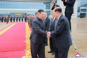 防暗殺?金正恩赴「川金會」 吃、行都從北韓專機運送
