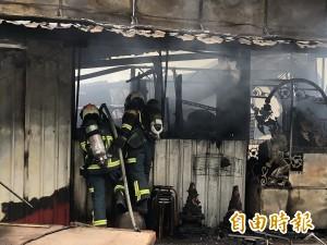 北市鐵皮屋大火 發現1具遺體、2人下落不明