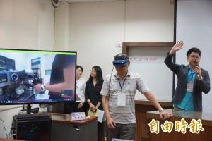 體驗虛擬實境教煮咖啡 科大師生:彷彿聞到香味