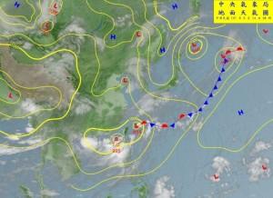 台南列豪雨特報區 南區氣象中心:要有防颱準備