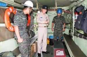 災防整備不放鬆 參謀總長李喜明視導北部預置兵力
