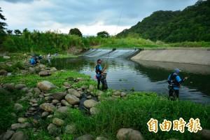 他們送「水中金絲雀」幫受創後的牛欄河水「復健」
