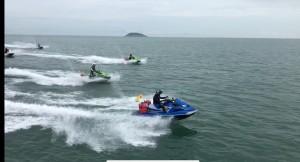 超狂!16台水上摩托車淡水飆到馬祖來回 400公里長征達陣