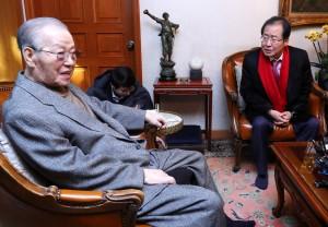 曾來台參加蔣介石告別式 南韓前總理金鍾泌辭世