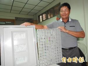 學徒出頭天 研發成功玻璃纖維環保水溝蓋、成立庇護工場