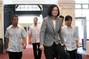 法新社專訪 蔡總統:各國要團結起來制約中國
