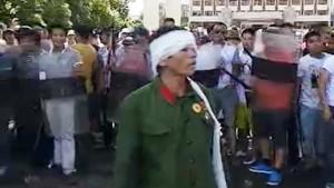 中國老兵鎮江抗爭 傳被軍方流血清場 3死500多傷