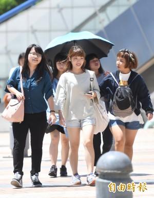 台北盆地高溫飆36度 各地留意午後雷陣雨
