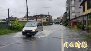 無米樂社區淹水 南市府:豪雨等級超過區排負荷