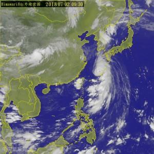 中南部雨量驚人... 鄭明典:傳說中的「掃到颱風尾」