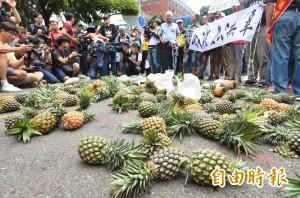 打完香蕉又換鳳梨? 綠委批:國民黨為了選舉胡亂抹黑