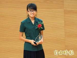 小綠綠算數學算出國際期刊水準 林芮吟勇奪金牌獎