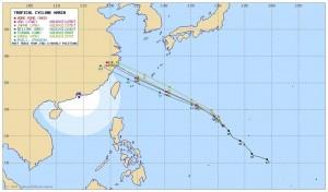 在台灣家門口晃!強颱瑪莉亞預測路徑再大幅南修