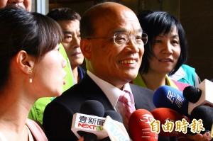 侯友宜指綠營執政農產下跌 蘇貞昌:農民需要關心不是利用
