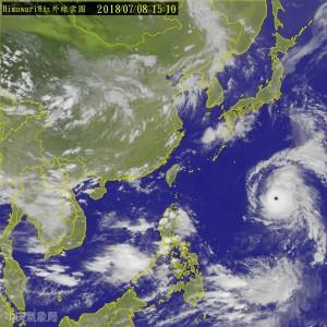 強度再提升!瑪莉亞暴風圈擴大 對北部構成嚴重威脅