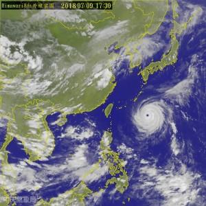 強颱瑪莉亞逼近 氣象局:明下午中部以北嚴防強降雨