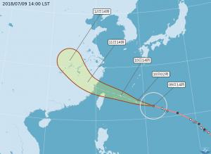 颱風瑪莉亞逼近 五專免試分發延至12日報到