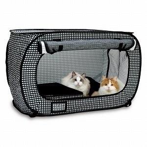 地震時避難別忘了貓咪  日本業者貓專用防災籠