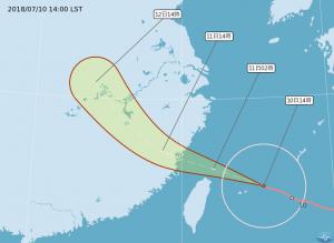 颱風來襲 台中國際機場10、11日班機部分取消或延後