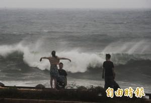 瑪莉亞暴風圈開始壟罩北台 估新竹以北最大陣風12級