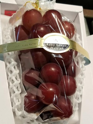 日本頂級葡萄「浪漫紅寶石」 一串要30萬!