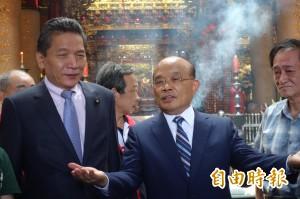 李鴻鈞讚蘇貞昌「未來新北市長」 親民黨:禮貌性回應