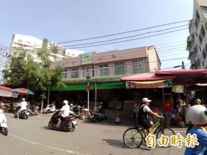 建物老舊 民雄第一零售市場擬拆遷