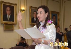 以客語宣誓就職立委 蔣絜安:用母語發聲天經地義
