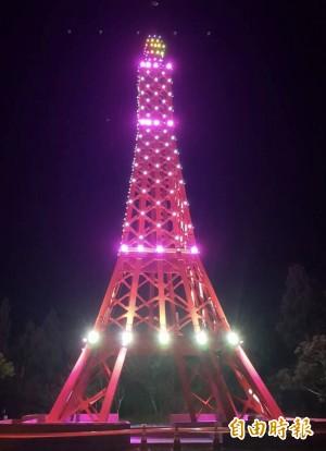 千萬打造「巴陵鐵塔」被罵醜爆 復興區長回應了…