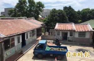 西港修繕140年陳家老厝 打造「八份209金獅傳奇」
